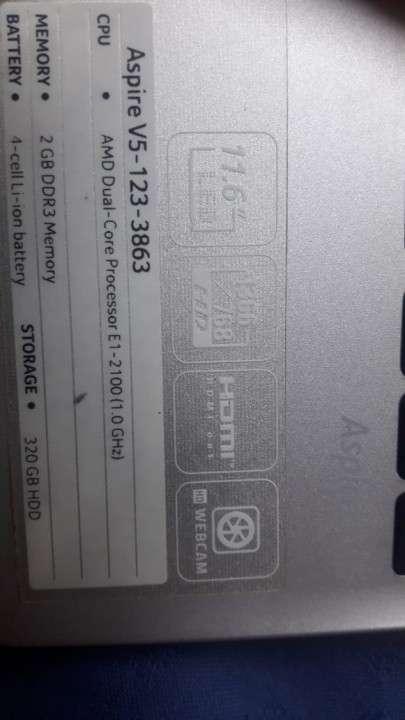Notebook Acer V5-123 - 4