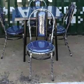 Comedor de 4 sillas tapizado