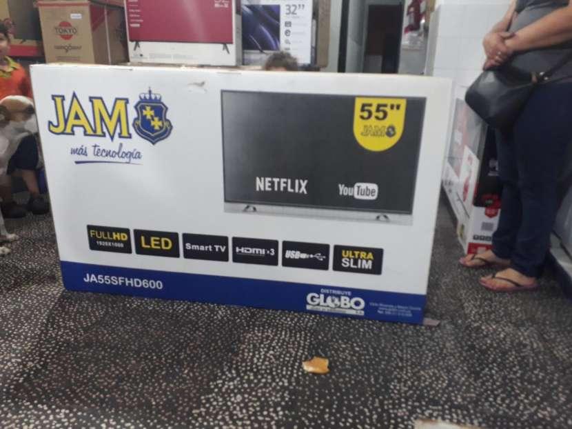 TV smart jam 55 pulgadas - 0