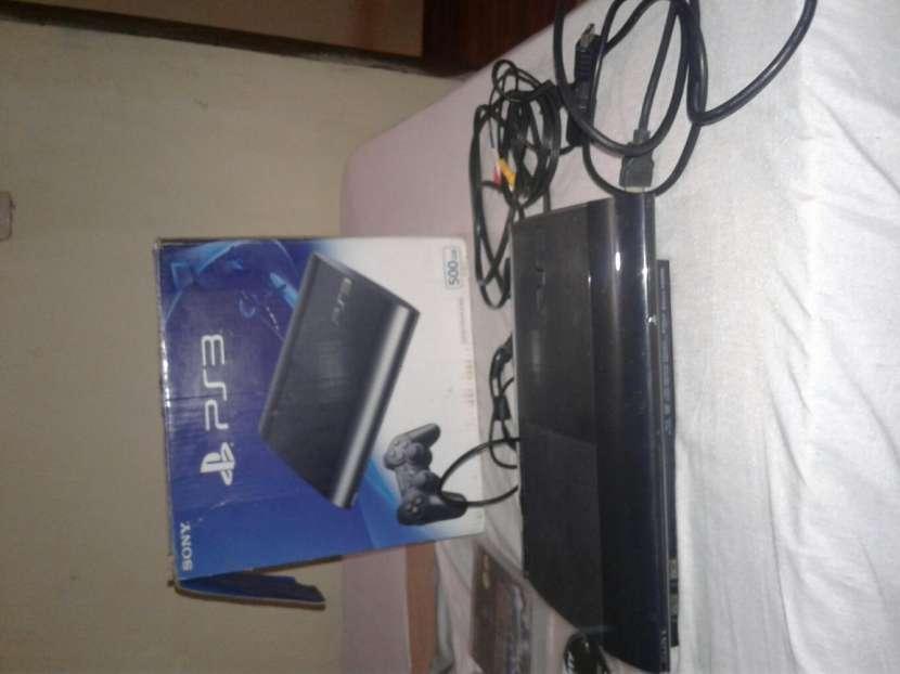 Playstation 3 de 500GB, con un control, mas 3 juegos.. - 0