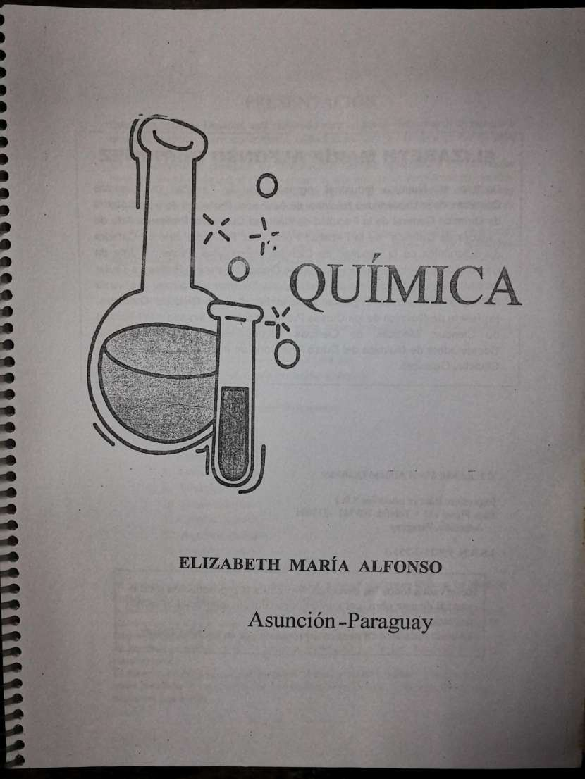 Química - Elizabeth M Alfonso - 1