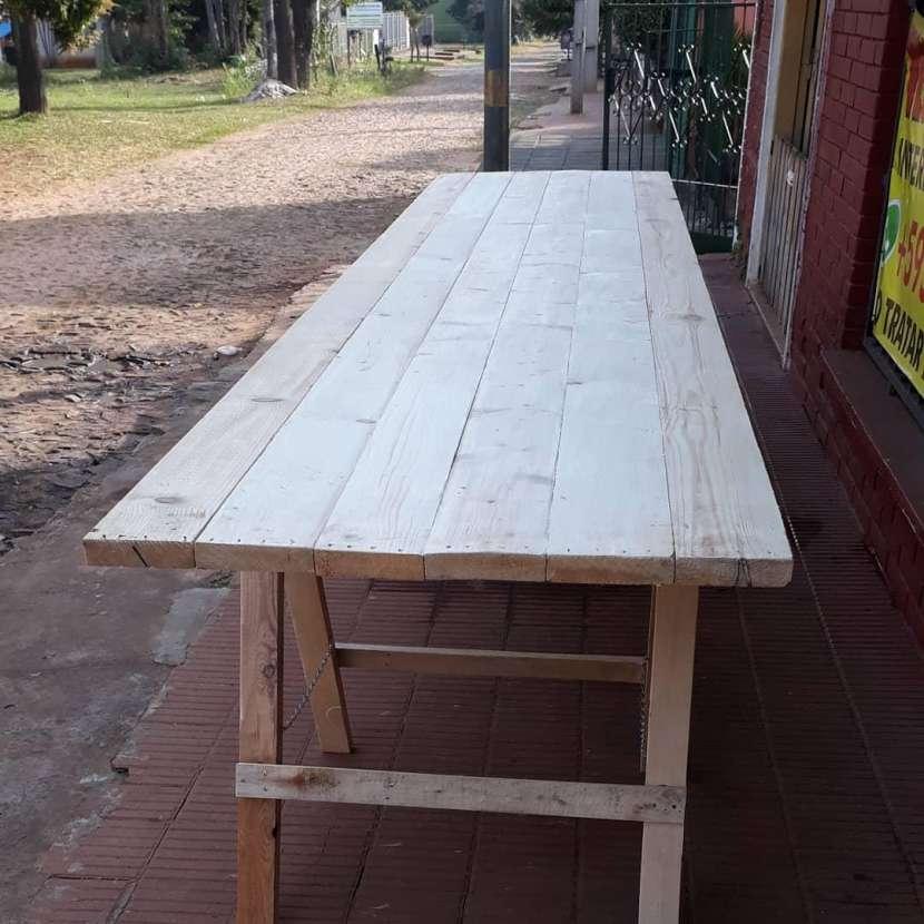 Mesas tipo tablones - 1