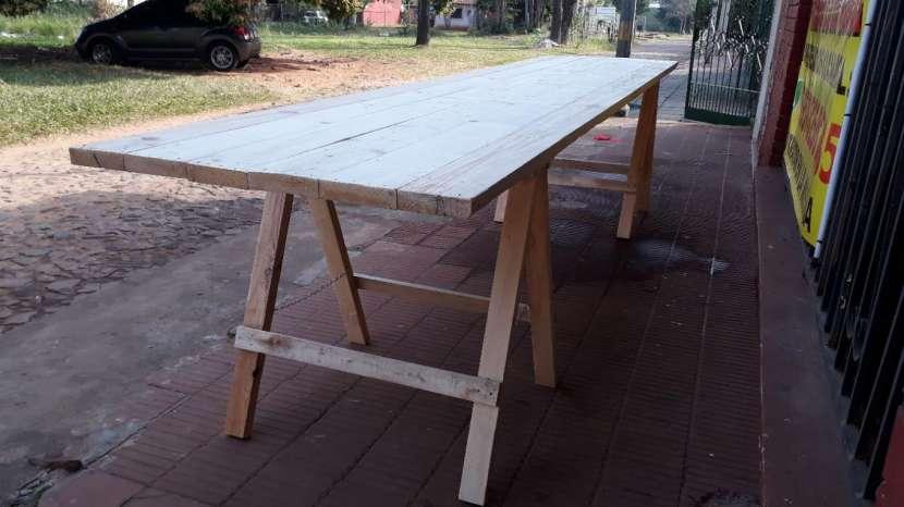 Mesas tipo tablones - 4