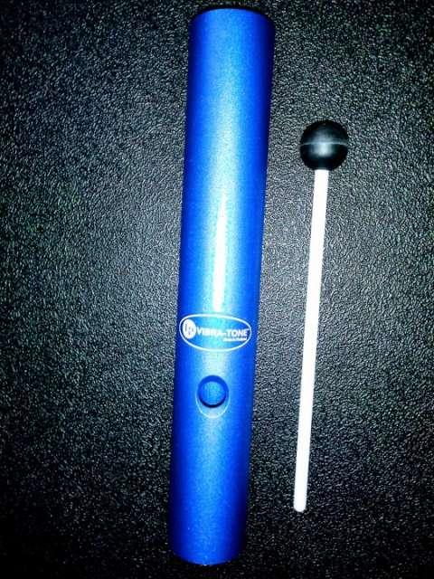 Latin percussion lp776-bl vibra-tone grande indigo blue