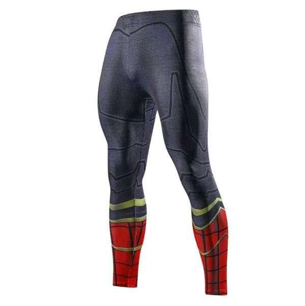 Calza Spaiderman ciclismo y crossfit - 0