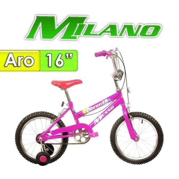 Bicicleta Fiorenza Milano Lila aro 16 - 0