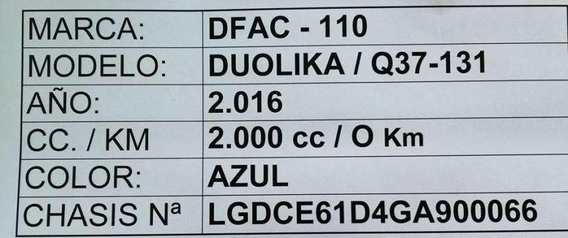 DFAC Duolika 2016 con carrocería metálica - 8
