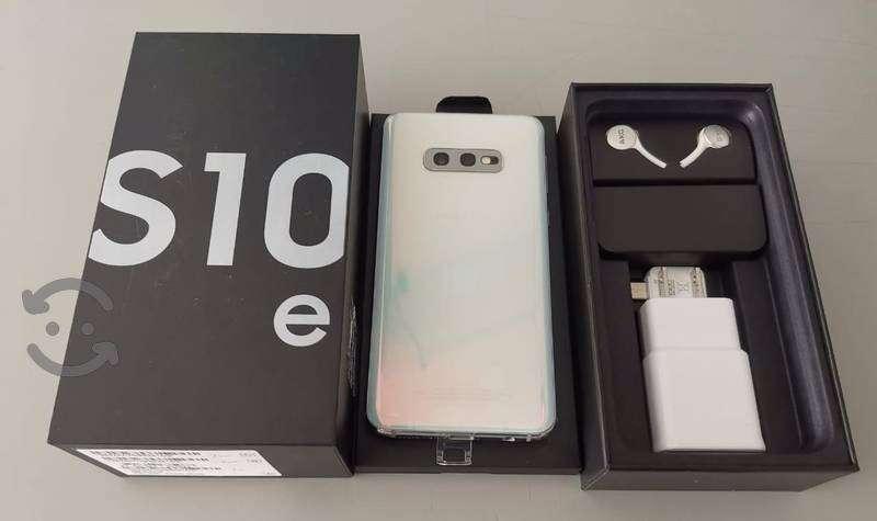 Samsung Galaxy S10e 128 gb blanco prisma - 1