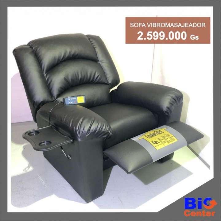 Sofá vibro masajeador ecoleather - 0