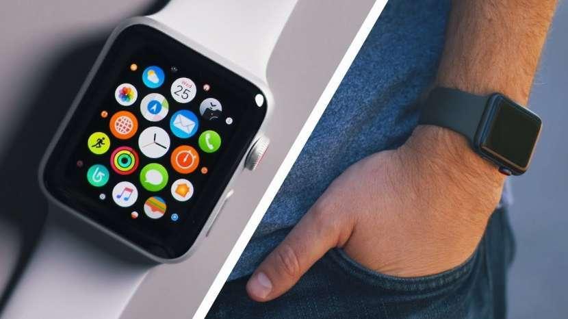 Apple Watch 3 42 mm negro - 1