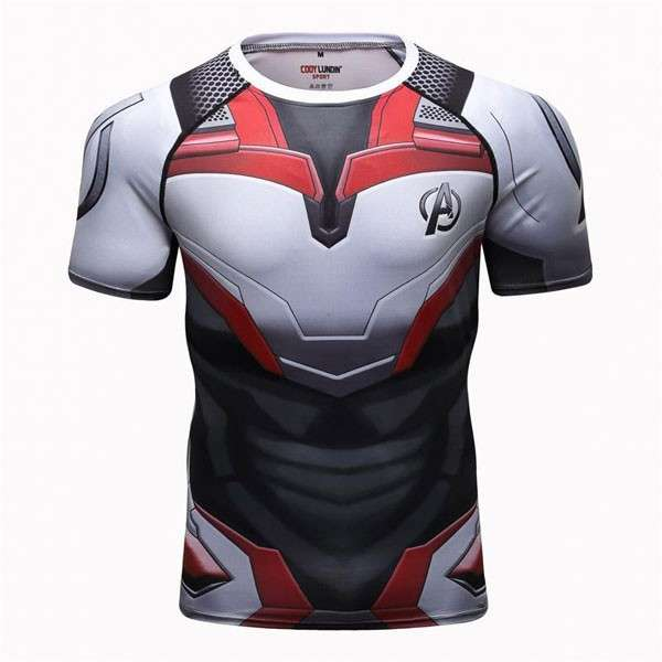 Remera Crossfit Ciclismo Avengers - 0