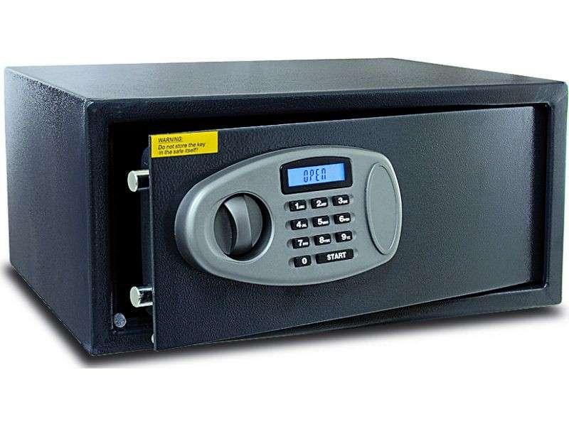 Caja fuerte de seguridad Digital con LCD - 0