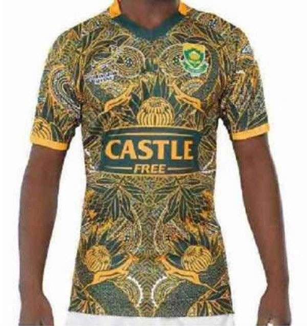 Remera de Rugby Sudáfrica 2018 - 0