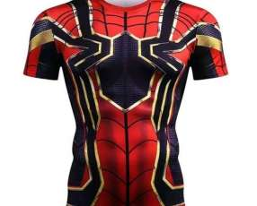 Remera Spiderman Niños