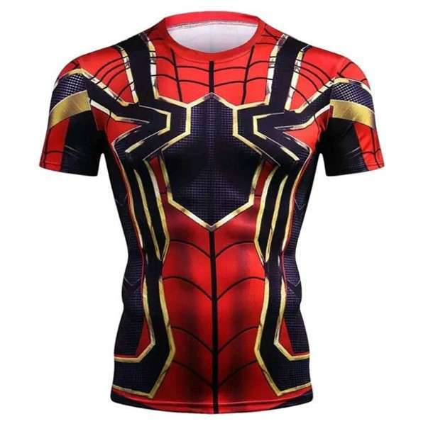 Remera Spiderman Niños - 0