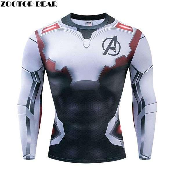 Camiseta Ciclismo Avengers - 0