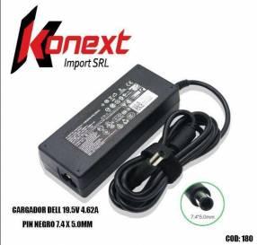 Cargador Dell 19.5V 4.62A pin negro 7.4 X 5.0MM (G)