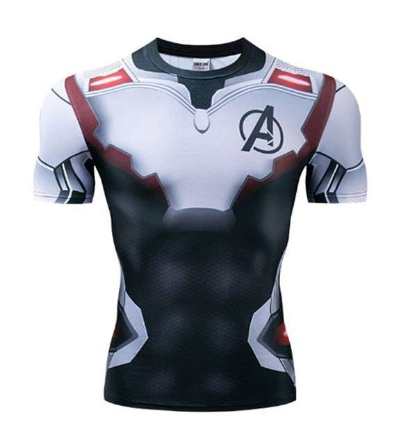 Camiseta Avengers Ciclismo - 0