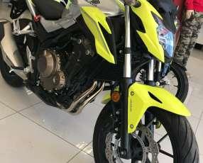 Moto Honda CB 500 F
