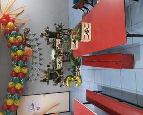 Centro de mesa y decoración