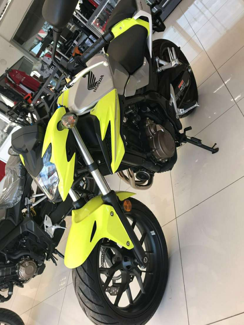Moto Honda CB 500 F - 1