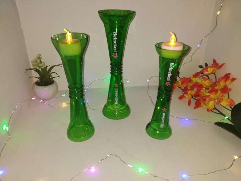 Candelabros y lámparas artesanales - 1