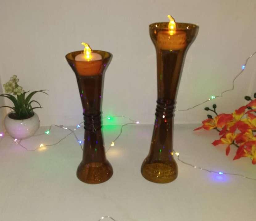 Candelabros y lámparas artesanales - 3
