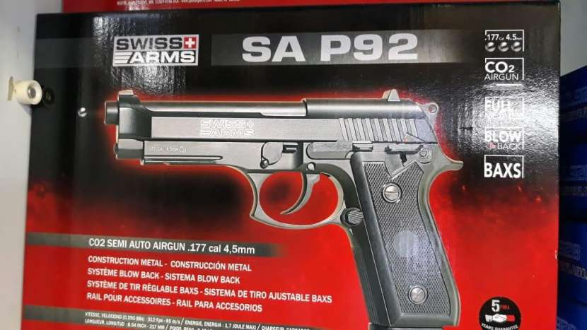 Pistola airsoft 4.5 mm 410 FPS - 3