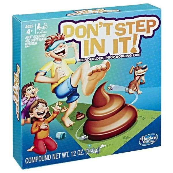 Juego ¡No la aplastes! de Hasbro - 1