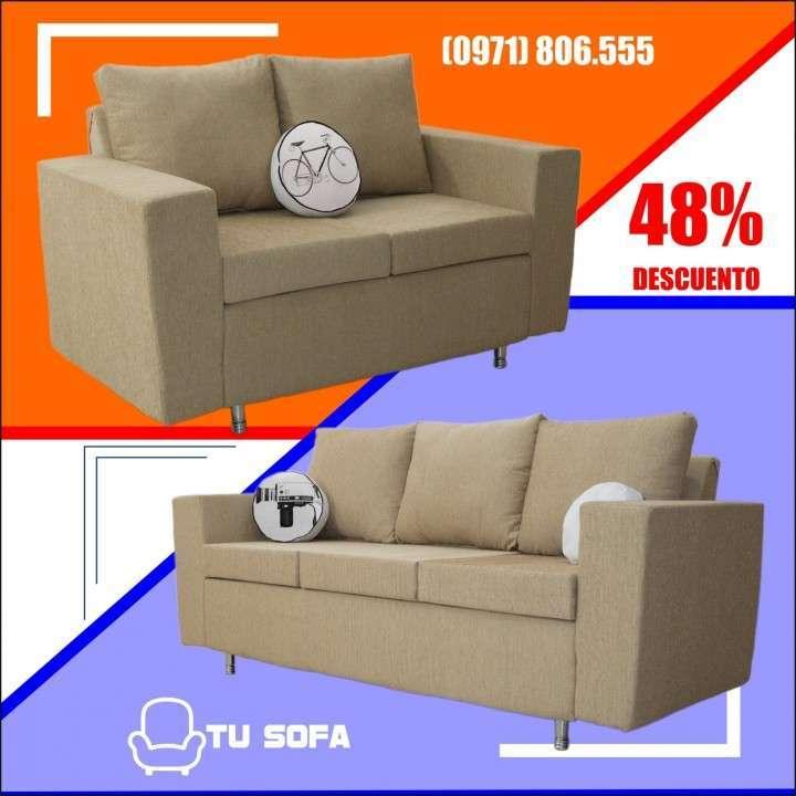 Juego de living tu sofa - 0