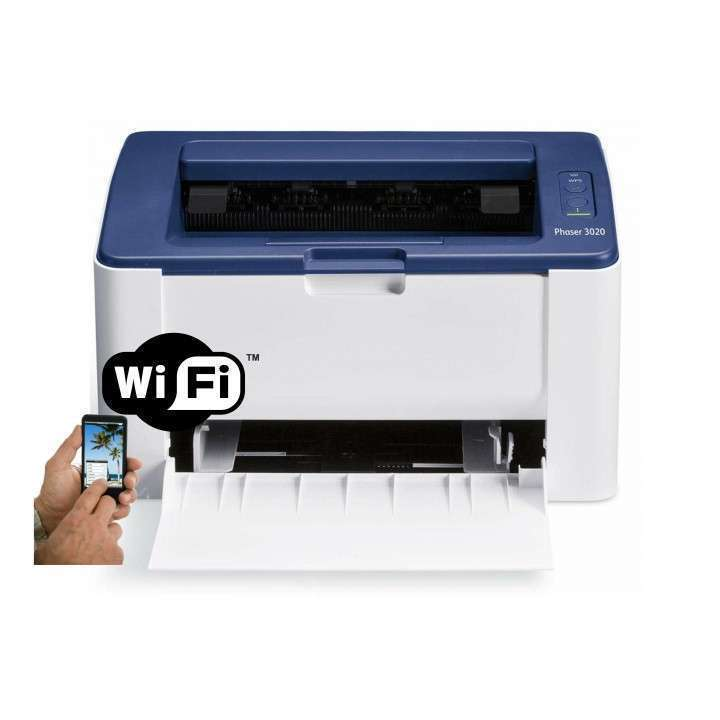 Impresora láser wifi xerox 3020 + tóner compatible - 1