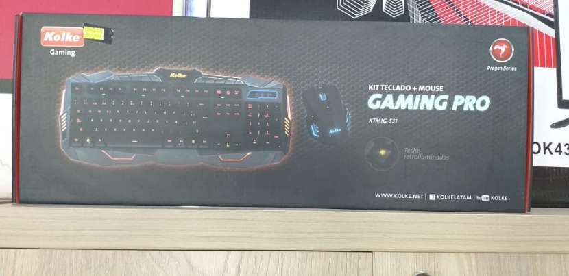 Kit Mouse y Teclado Gamer Power Kolke Pro KTMIG-531 - 1
