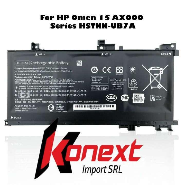 Batería TE03XL HP Omen 15-ax000/ HP Pavilion 15-bc008tx - 0