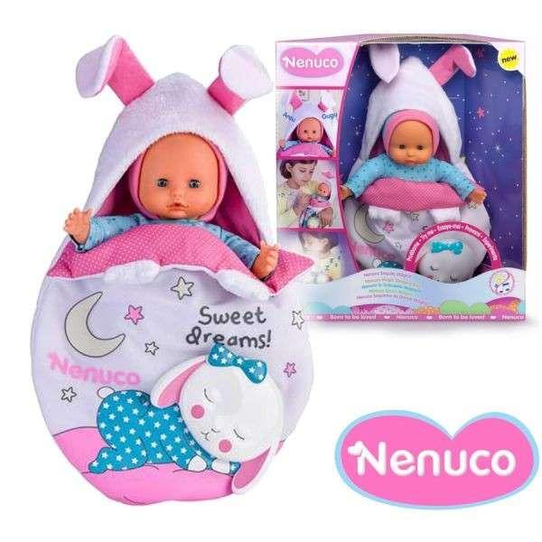 Muñeca Nenuco Saquito de dormir Magico de 25 cm - 0