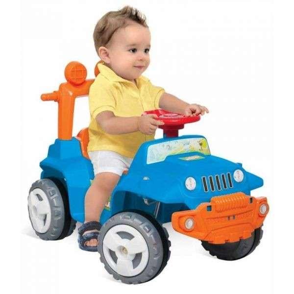 Autito Jeep Paseo y Andador Azul - Bandeirante - 1055 - 2