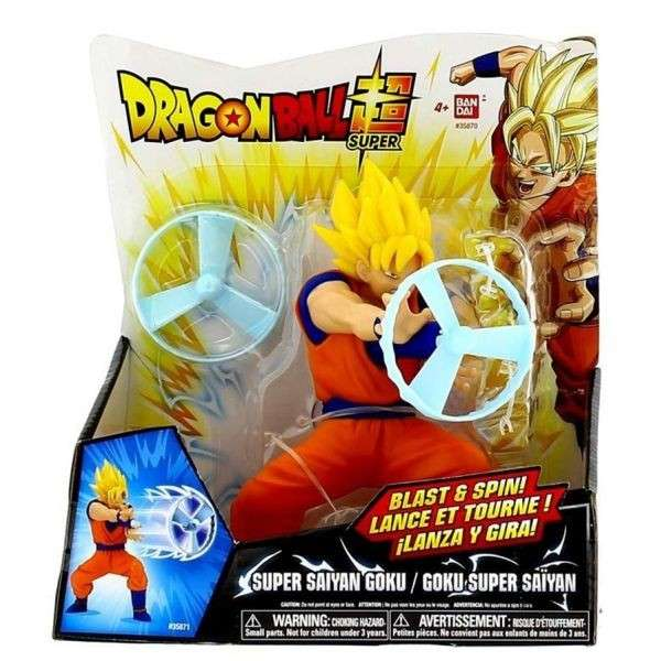 Figura Kamehameha Dragon Ball Super Goku de Bandai - 1
