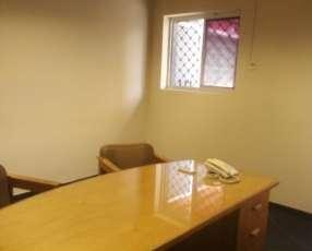 Oficinas amobladas excelente ubicación zona Céntrica