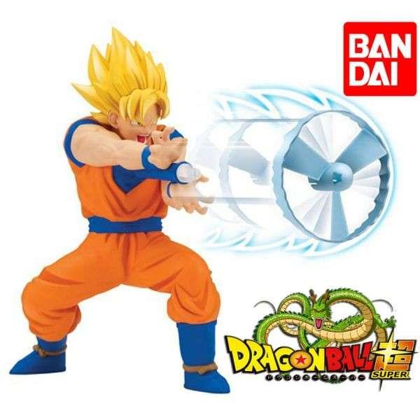 Figura Kamehameha Dragon Ball Super Goku de Bandai - 0