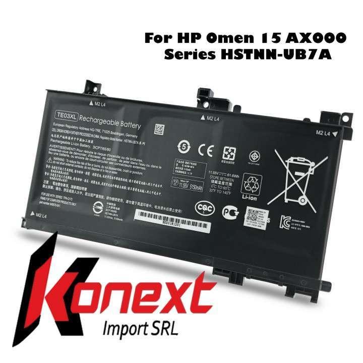 Batería TE03XL HP Omen 15-ax000/ HP Pavilion 15-bc008tx - 5