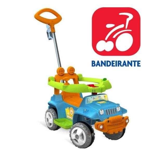 Autito Jeep Paseo y Andador Azul - Bandeirante - 1055 - 0