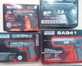 Pistola airsoft 4.5 mm 410 FPS