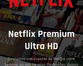 cuentas originales Netflix