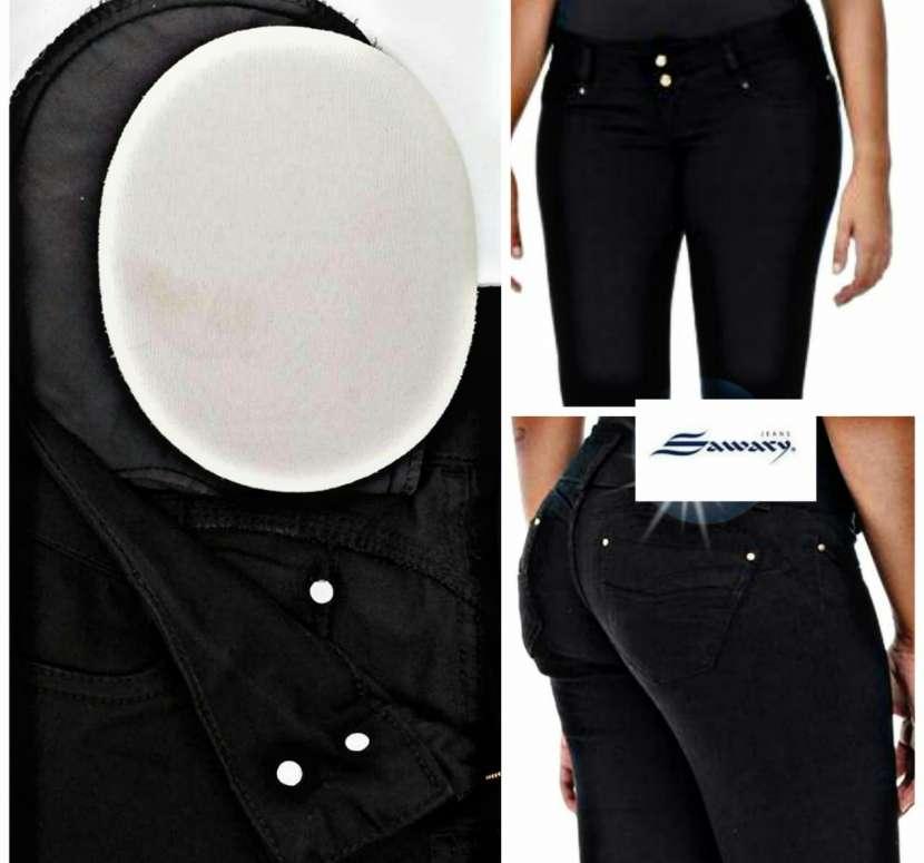 Jeans Sawary con faja - 0
