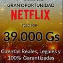cuentas originales Netflix - 1