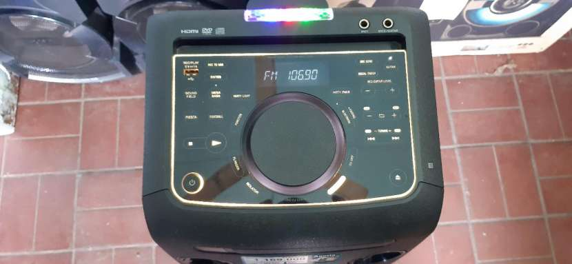 Equipo de sonido Sony - 1