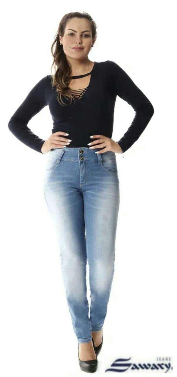 Jeans Sawary con faja - 2