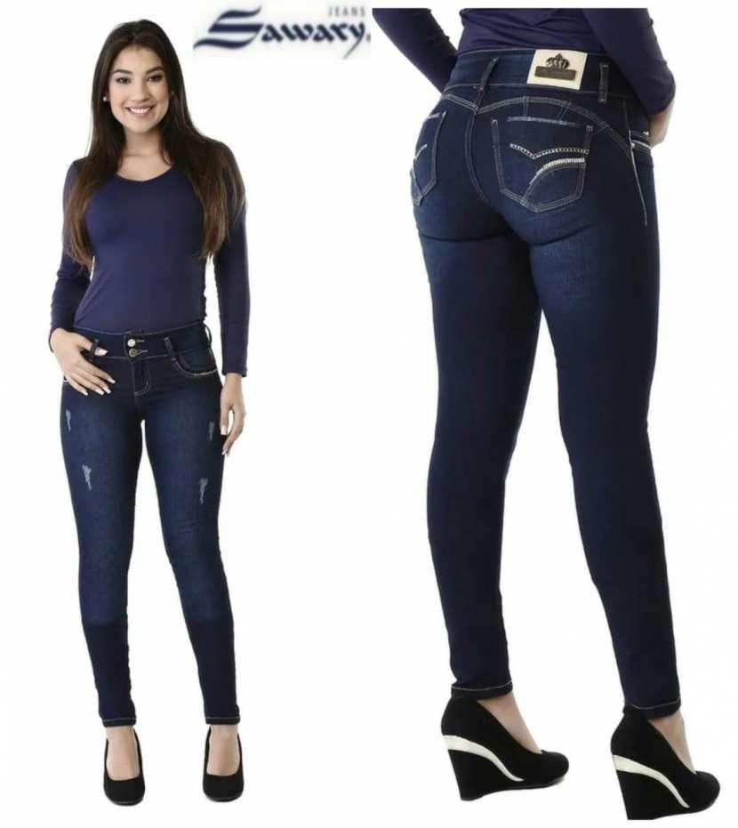 Jeans Sawary con faja - 3