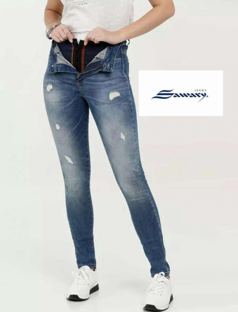 Jeans Sawary con faja - 5