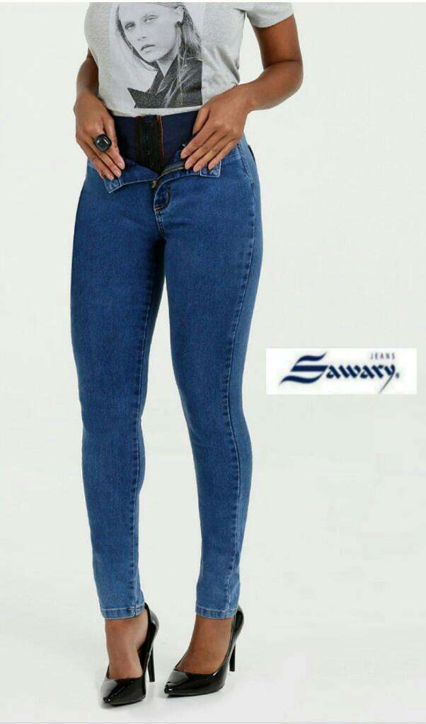 Jeans Sawary con faja - 6