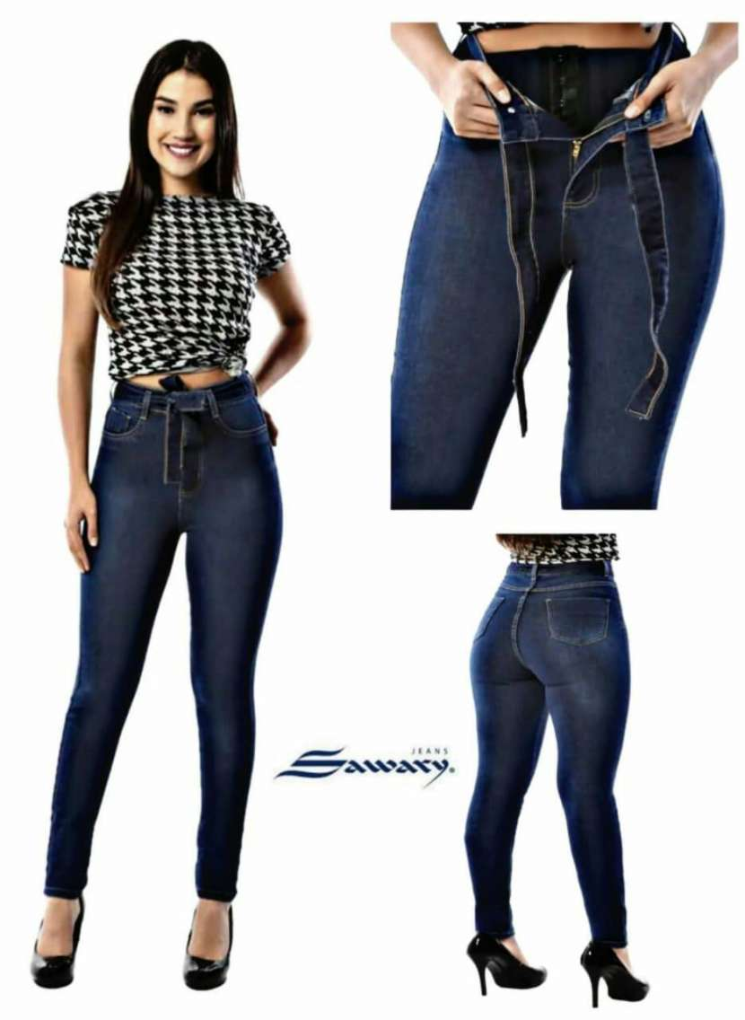 Jeans Sawary con faja - 9
